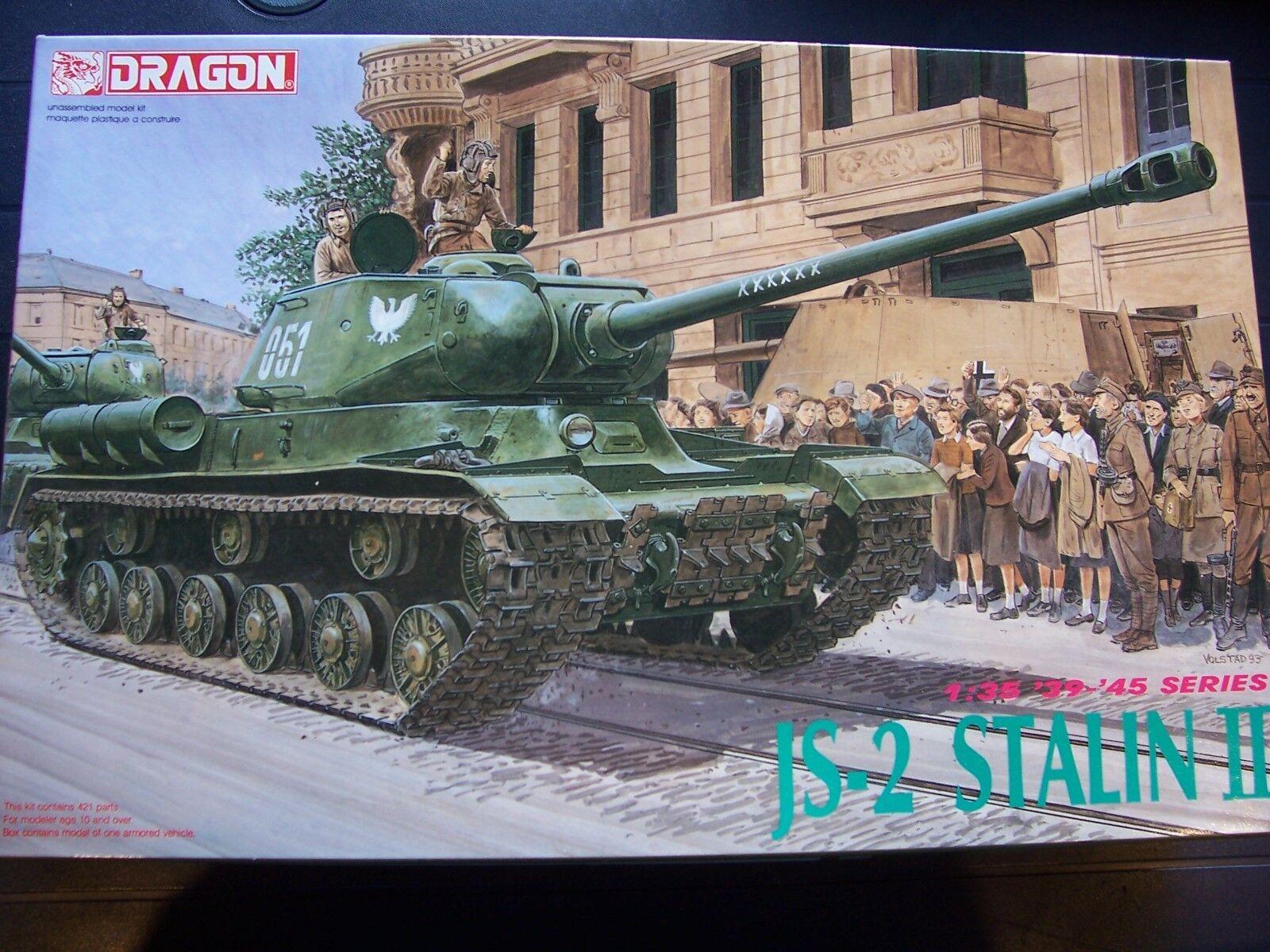Dragon 6012 kpz. JS-2 Stalin II 1 3 5 OVP 242
