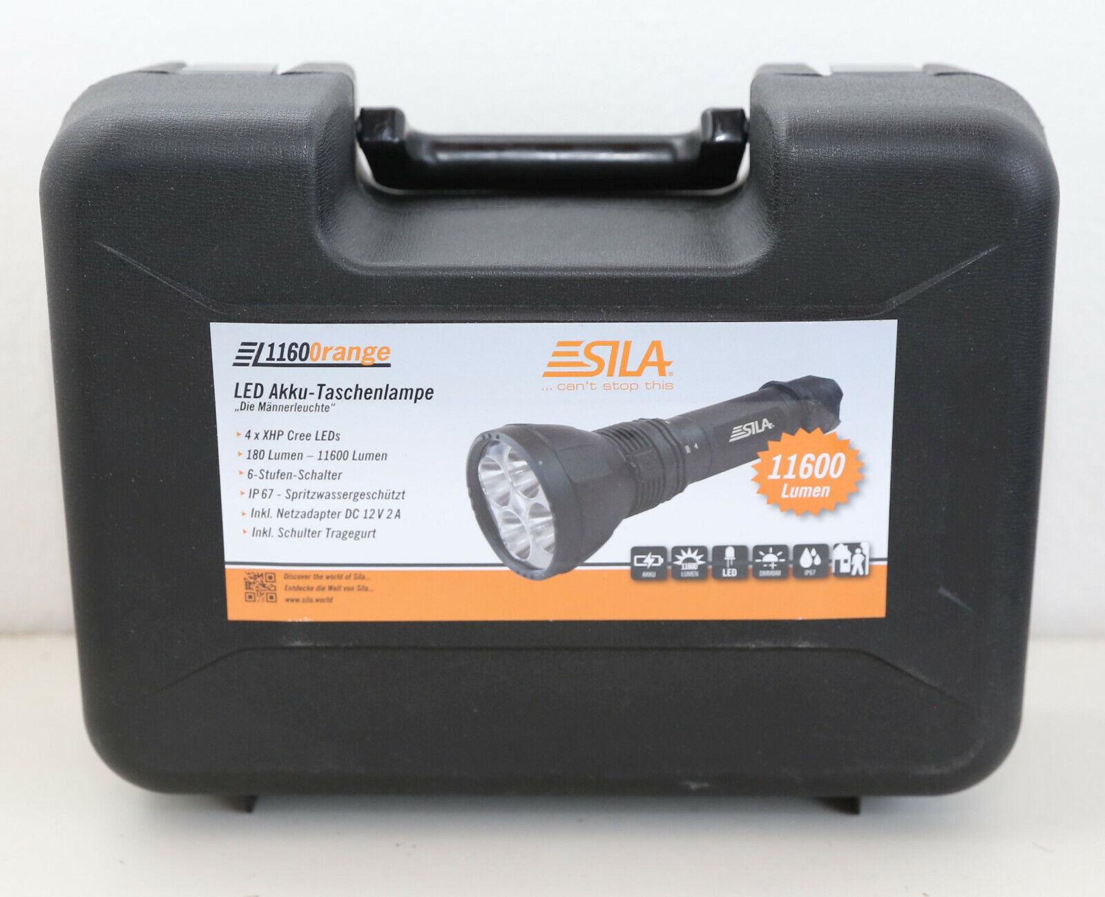Sila   Die Männerleuchte   - LED Akku Taschenlampe mit 11600 Lumen -  | Praktisch Und Wirtschaftlich