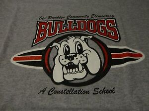 OLD-BROOKLYN-Elementary-School-BULLDOGS-T-Shirt-NWOT-FREE-Shipping-Adult-Large