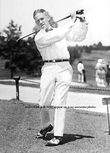 Details About 1921 Golfer Bobby Jones Photo Golf Swing Masters Founder Augusta Course