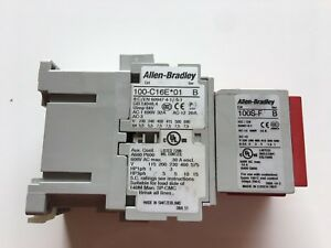 100-C16E 01 B Allen Bradley Contactor With 100S-F Complete Device