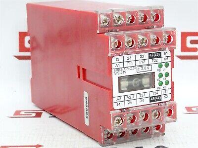 250VAC 24VDC Elan SRB-NA-R-C.6-24V Safety Relay 6A