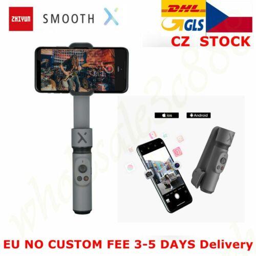 CZ ZHIYUN Smooth X Mini Gimbal 3-Axis Smartphone Extensionable Stabilizer Black