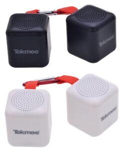 2 x Mini Bluetooth Musik Lautsprecher Speaker Bluetooth Box Stereo BT Sound