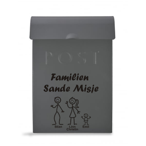 Norwegian-Postbox-Characters-Select-Colour-Quantity-Required-PRICE-PER-CHARACTER