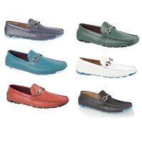 Brit Man Mens Casual Designer Loafers Moccasins Slip On Shoes Size