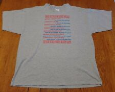 #2131-13 Daily Roadside Specials List of 7 Menu Items Graphic T-Shirt 3XL
