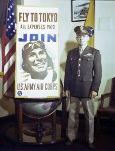 General-James-Doolittle-recruits-for-USAAF-Air-Corps-World-War-II-Photo-Print