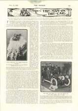 1906 Lambert Hydroplane Living Crushed Man Paris Eastbourne Tennis Tournament