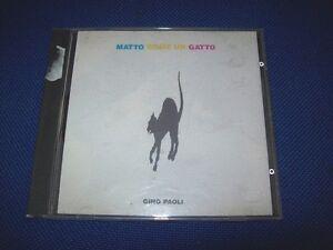 CD-GINO-PAOLI-MATTO-COME-UN-GATTO-WARNER-1991-PRIMA-STAMPA-QUATTRO-AMICI-OTTIMO