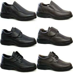 mens comfort shoes casual smart formal wide fit office
