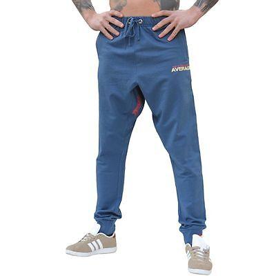 Rude Jogging Pantaloni Notaverage Blu Navy Bodybuilding Albero Wollmischung-ng It-it Pacchetti Alla Moda E Attraenti