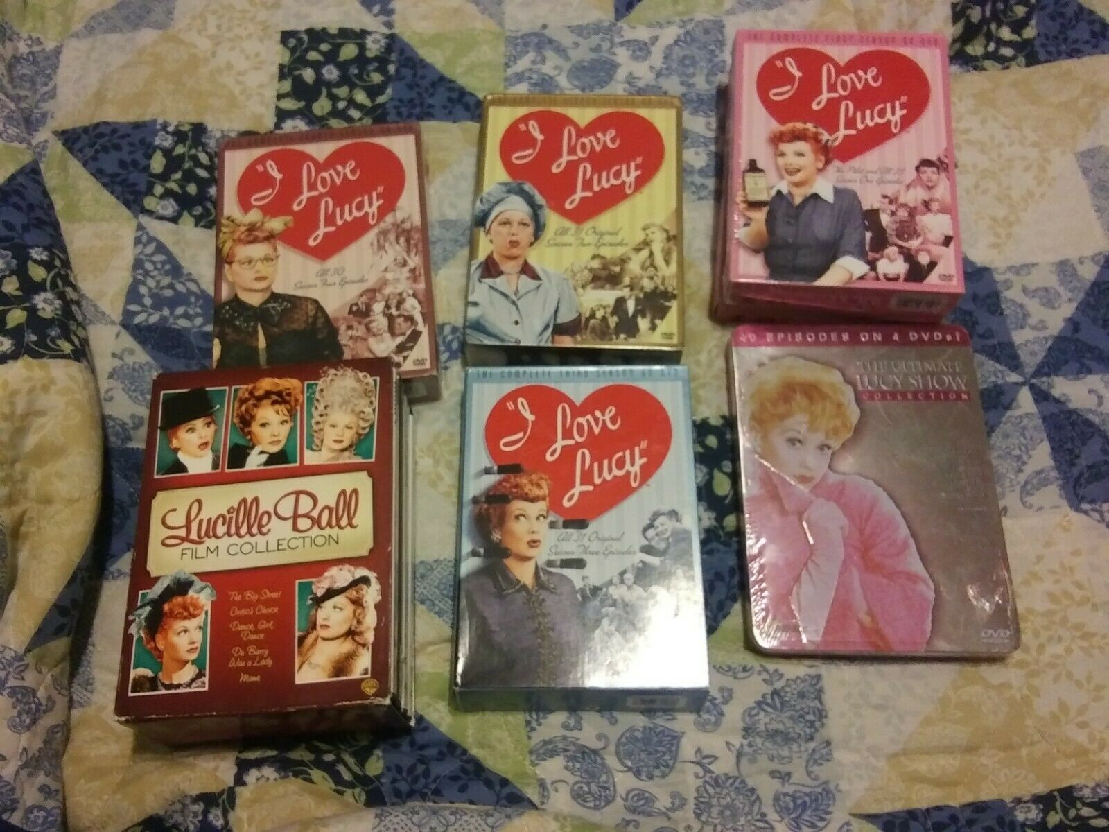 I Love Lucy The Complete Series Dvd For Sale Online