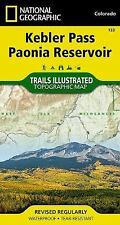 National Geographic Trails Illustrated Colo Kebler Pass Paonia Reservoir Map 133