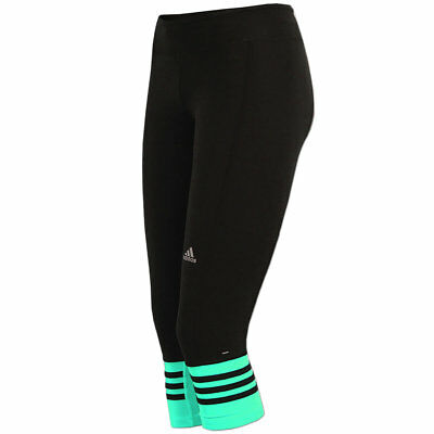 adidas Damen Response 3/4 Tight ClimaLite Laufhose Fitnesshose Running Hose  | eBay