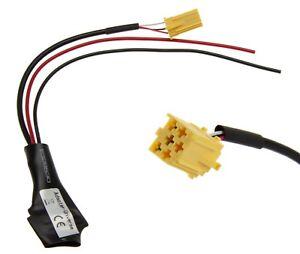 Pour Radio VW MFD RNS Premium 4 5 AUX LINE IN adaptateur mp3 changeur de CD 8-pin Pol