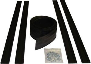 Details About 16 Ft Garage Door Bottom Seal Kit Track Floor Weatherstrip Flexible Insulation