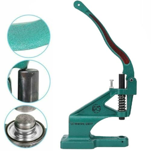 Eyelet Grommet Dies with Green Machine Sewing Leathercrafts Bags Belts Clothing