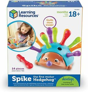 kid toy Learning Resources Spike The Fine Motor Hedgehog,Sensory,Fine Motor Toy