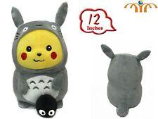 Plüschtier Pikachu verkleidet Totoro