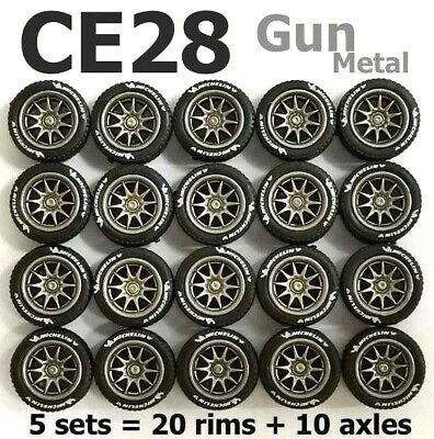 1:64 Custom Alloy Fit Hot Wheels Rubber