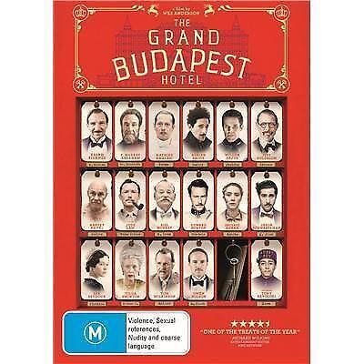 1 of 1 - The Grand Budapest Hotel..REG 4..NEW & SEALED   dvd748