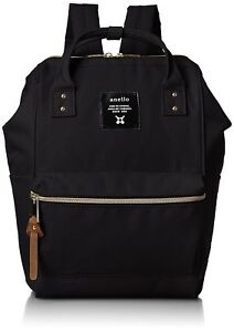 027a3eb88a0d anello AT-B0197B black small backpack with side pockets F S w ...