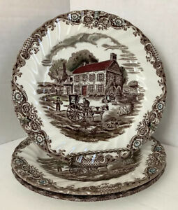 Heritage-Hall-Made-In-Staffordshire-England-Dessert-Plates-Set-Of-3-6-3-4-034