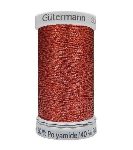 Gütermann Sulky Metallic Maschinen Stickgarn 500m FB 7010 1.28 EUR//100 Meter