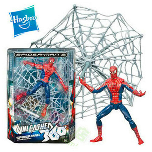 Hasbro Marvel Hero Spider-Man 3 Unleased 360 Action Figure Figurines Kid Boy Toy