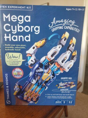 Thames /& Kosmos Mega Cyborg STEM Experiment Kit Build Your Own Hydraulic Hand