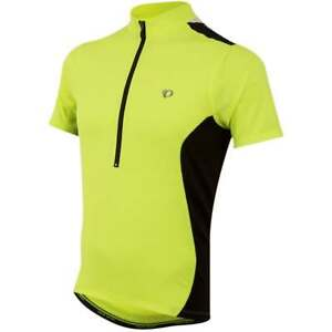 d33a7adda Pearl Izumi QUEST Mens Short Sleeve Cycling Jersey 11121407 Yellow ...