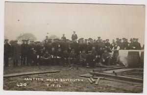 Dorset postcard - Canteen Wreck, Bovington, 7.12.14 - (A763)