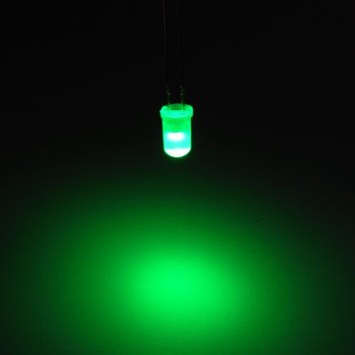 3mm//5mm//8mm//10mm Diffused Round Top Ultra Bright LED Diode Light Emitter