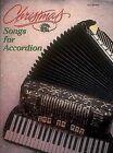Christmas Songs for Accordion by Hal Leonard Publishing Corporation (Paperback / softback, 1988)