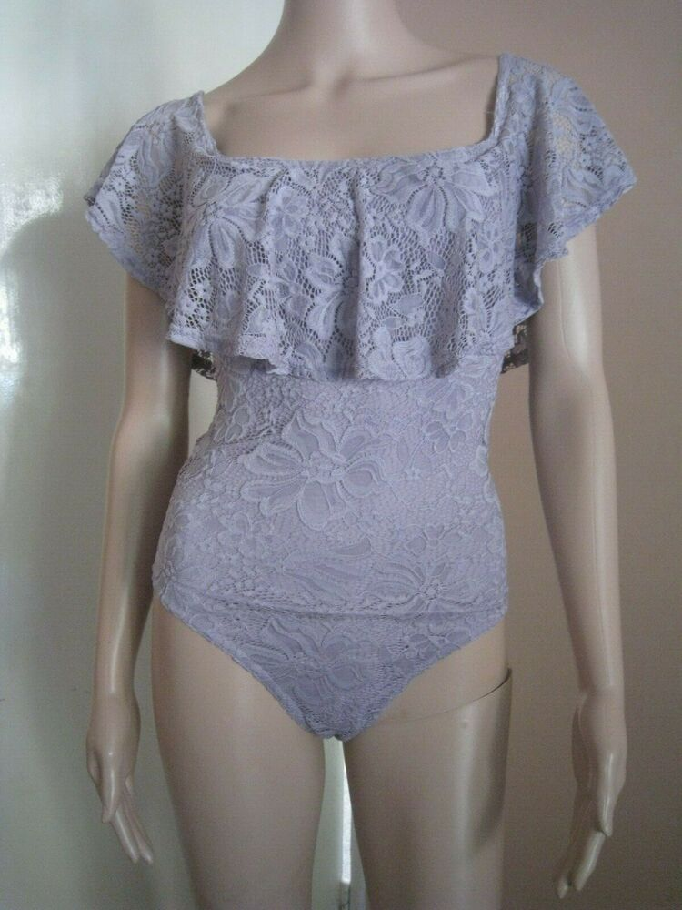 Bnwt New Look Femme Body Costume Taille 14 Vacances, Été, *** B 193 ***
