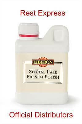 Liberon Special Pale Transparent French Polish SSP, 250ml, 500ml or 1 litre (1L)