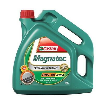 Castrol Magnatec 10W40 Part Synthetic Car Engine Oil 4L 4 Litre Diesel Petrol