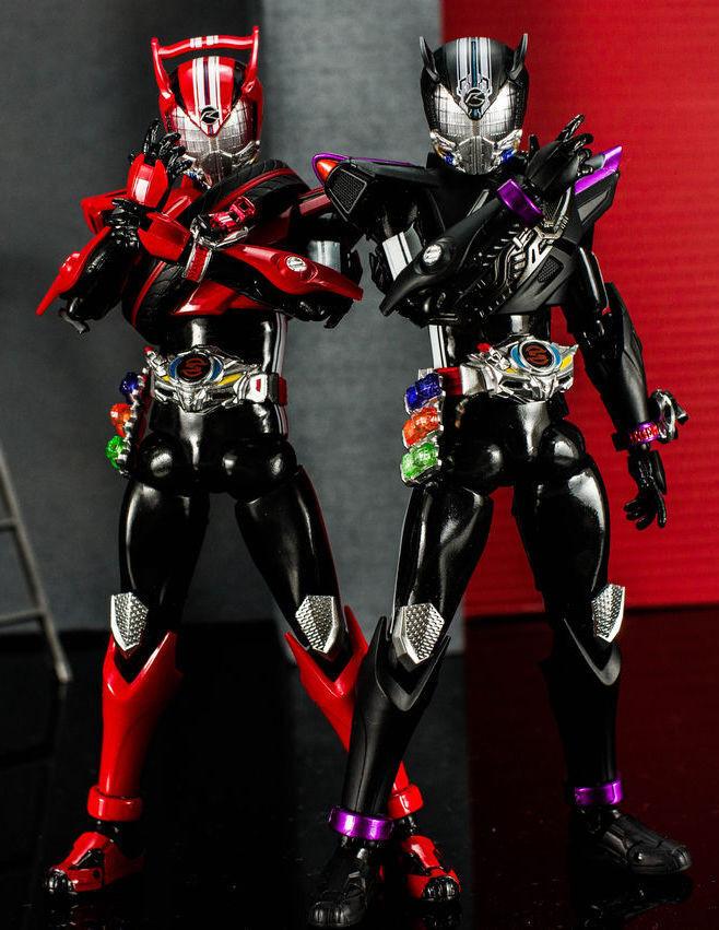 Japan Rare S.H.Figuarts Masked Kamen Rider Drive & Proto Drive Action Figure Set