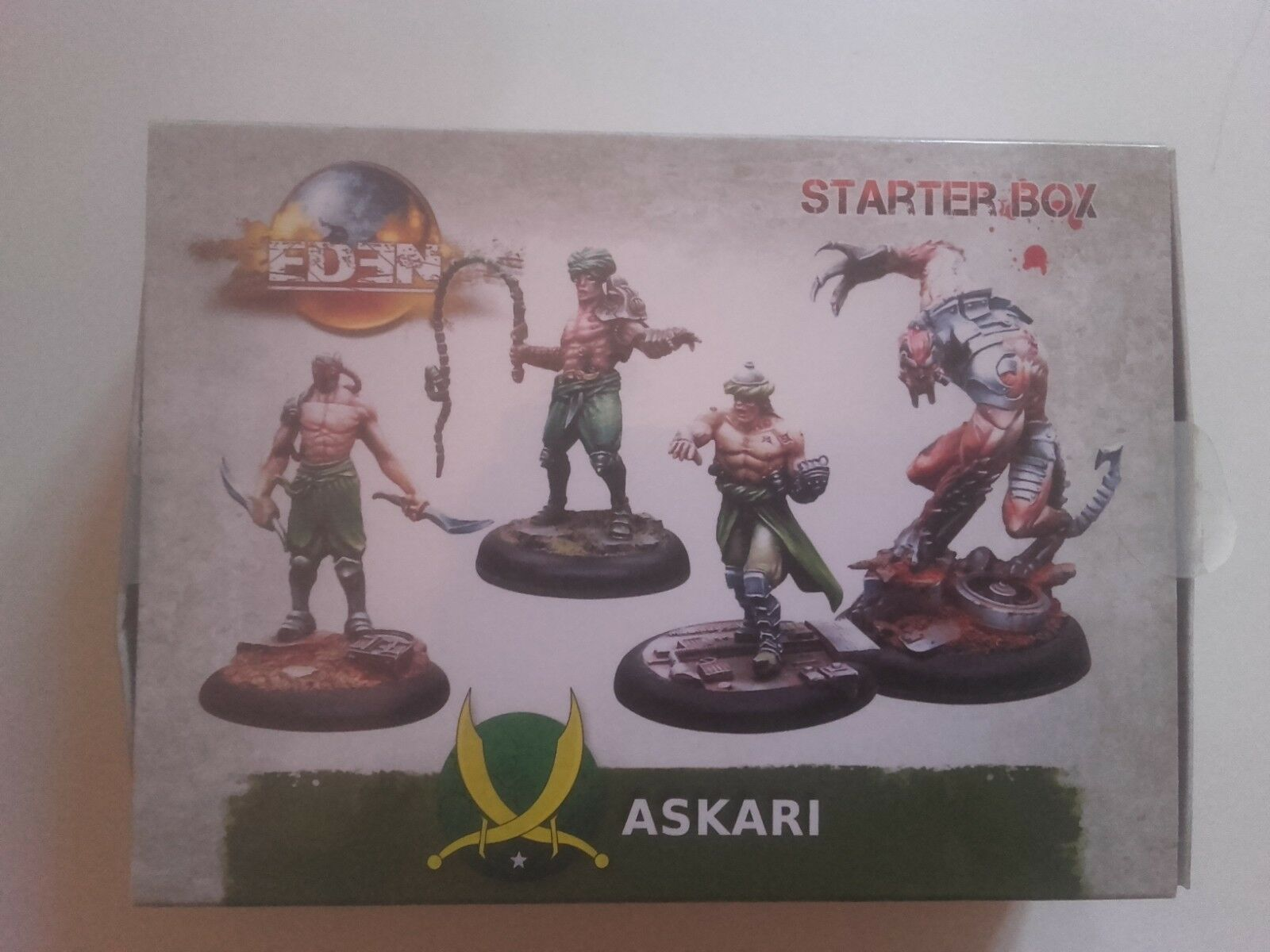 Starter Box Askaris pour Eden Eden Eden the Game, Happy Games Factory Neuf 1a8d00