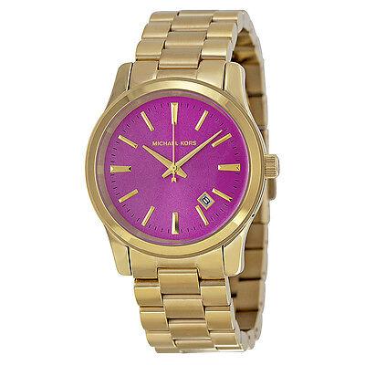 Michael Kors Golden Runway Gold-tone Ladies Watch MK5801