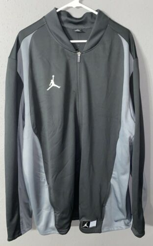 NIKE AIR JORDAN Men/'s Jacket Full-Zip Black//grey Size 3XL RN# 56323 CA# 05553