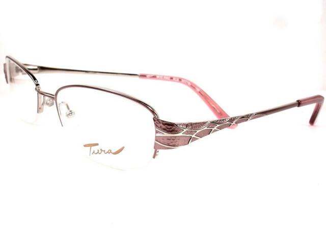 Tura R 402 Rose Eyeglasses Women Ladies 53-18-135 | eBay