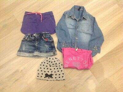 Lotto Stock Abbigliamento Bambina Gonna, Camicia, T- Shirt