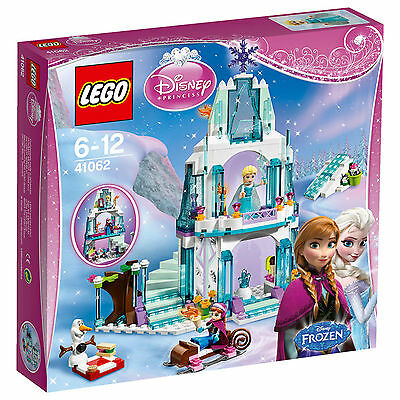 LEGO 41062 ELSA'S SPARKLING ICE CASTLE NEW SEALED DISNEY PRINCESS SLIGHT DAMAGE