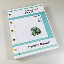 DETROIT DIESEL 3-53 4-53 6V-53 8V-53 53 SERIES ENGINE SERVICE MANUAL SHOP REPAIR