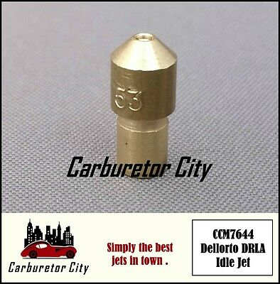made in Japan Carb Brass Jet Dell/'orto 128