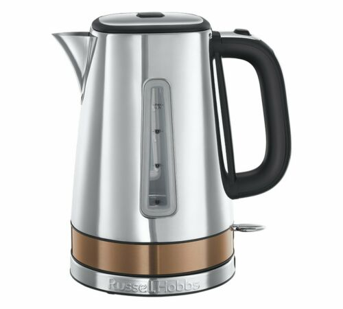 Russell Hobbs 24280 Luna Quiet Boil Jug Electric Kettle Copper 1.7 Litres