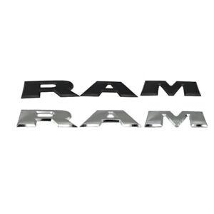 Un-Conjunto-de-Emblema-del-Logotipo-de-la-Letra-RAM-3D-del-PortoN-de-Coche-O4K4