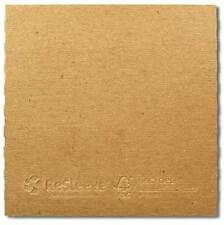 10 x CD/ DVD Cardboard Wallet 100% Recycled Brown Blank NEW ++ No Window ++